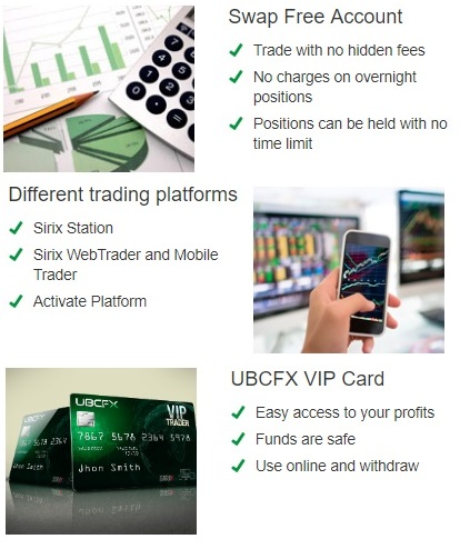 UBCFX features bitcoin online trading